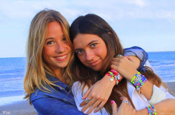 Fluorine Summer Collection    www.milubracelets.com    #bracelets #beach #fluorine #friends  #pulseras #playa #fluor #amigas #milubracelets #handmade