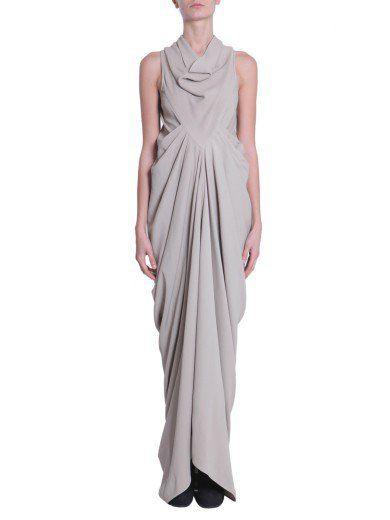 RICK OWENS Naska Dress. #rickowens #cloth #dresses