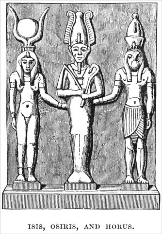 The myth of Osiris, Isis and Horus  (Seth, Nephtys, Byblos...)