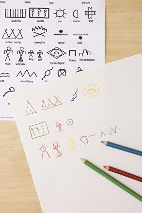 An ancient form of writing gets new life in an activity designed to help your child read understand what life was like for early Native Americans.