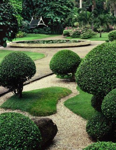 240 best topiary niwaki images on pinterest yard design for Thai garden design pictures