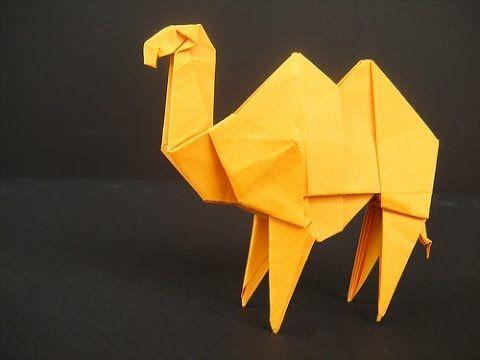 How to make a Paper Camel Origami / Как сделать Верблюда из Бумаги Оригами - YouTube