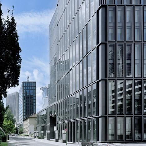 max dudler architekt hochhausensemble ulmenstrasse frankfurt a m ida pinterest frankfurt. Black Bedroom Furniture Sets. Home Design Ideas