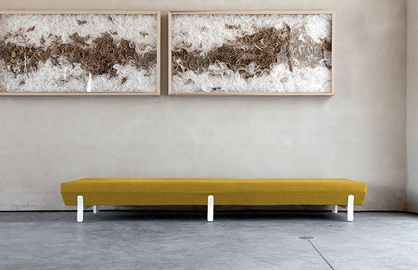 Platform Bench design Arik Levy Viccarbe