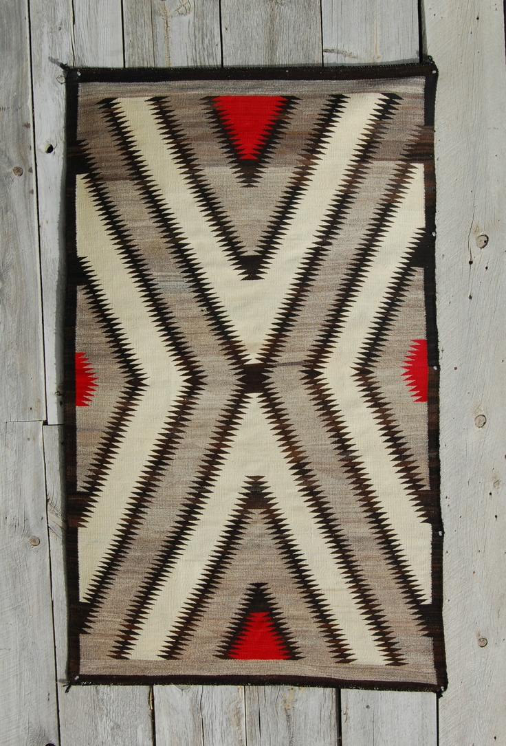 Details About C1930s NAVAJO RUG Native American Indian Blanket Navaho  Textile Weaving Wool NR