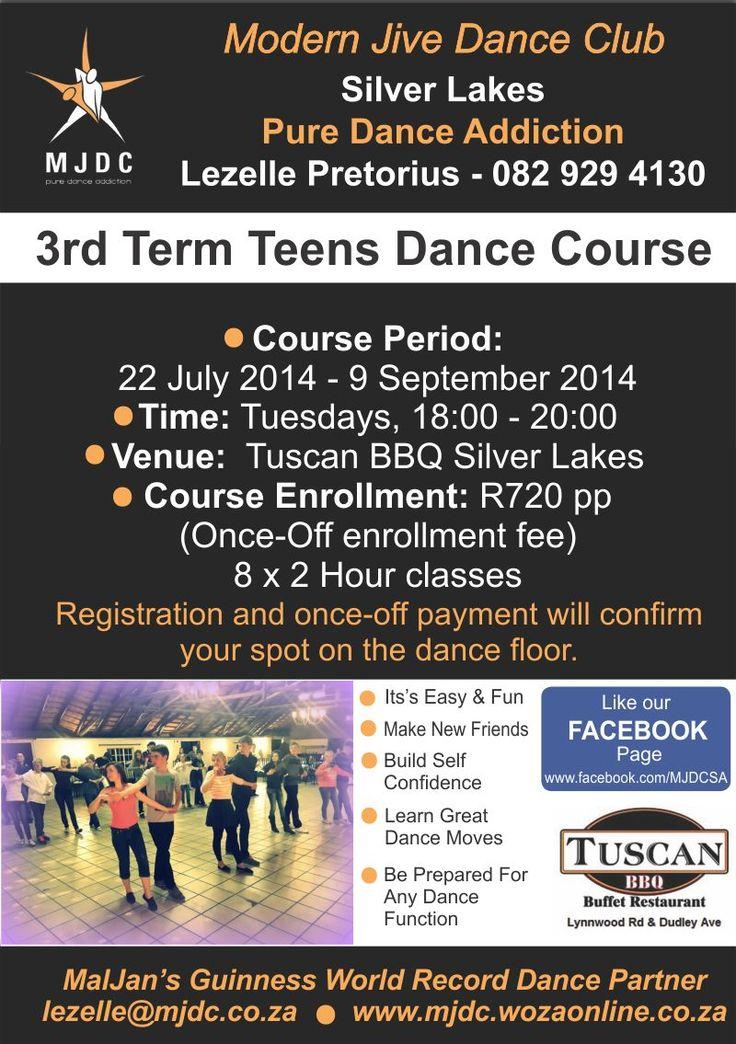 Matric Dance & Gr.10 Ball - Dance the night away! 3rd Term Teens Dance Course Starts 22 July 2014 - 9 September 2014