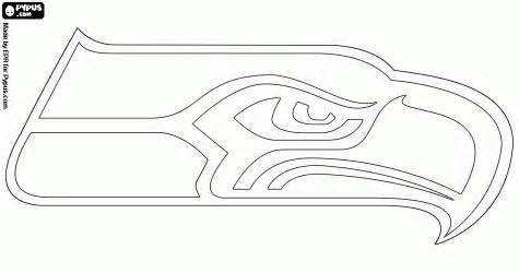 Nfl Logos Printable Coloring Pages Other School Stuff