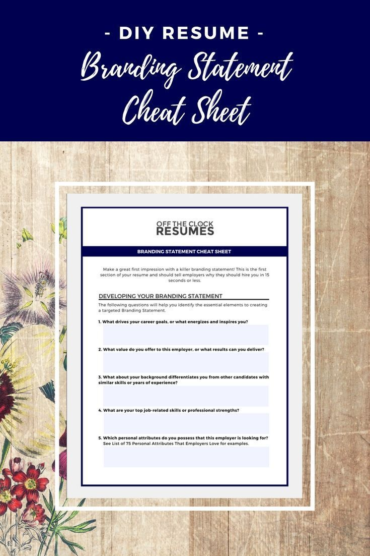 Struggling To Create A Targeted Resume This Cheat Sheet Will Challenge You To Consider Your Stre Resume Tips No Experience Resume Writing Examples Resume Tips