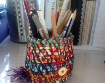 Office and desk storage basket. Accent desk decor. Handwoven basket. Natural fiber basket. -    Edit Listing  - Etsy