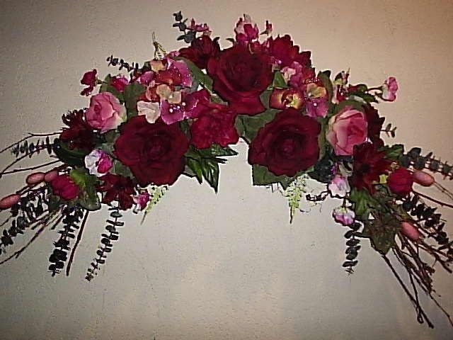 Corner Flower Arrangements Flower Victorian Swags
