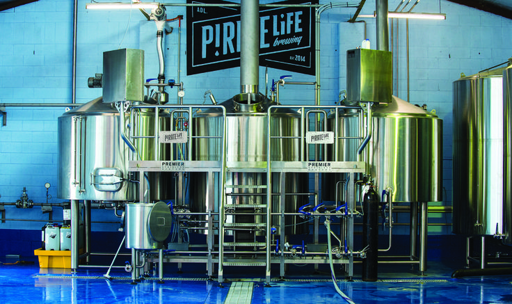 Large Scale Micro Breweries by Premier Stainless Systems