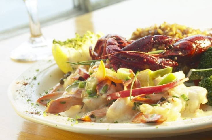 Lobster in White Wine Pasta With Beurre Blanc. Lobster makes a great special occasion meal, and here it is dressed up with a buttery lemon sauce accented with tarragon, Spanish saffron, and white wine and served in thin pasta. The wine makes the pasta light and elastic so that it stretches easily to wrap the lobster. Click here to view recipe: http://www.theepochtimes.com/n2/life/lobster-in-white-wine-pasta-with-beurre-blanc-167317.html