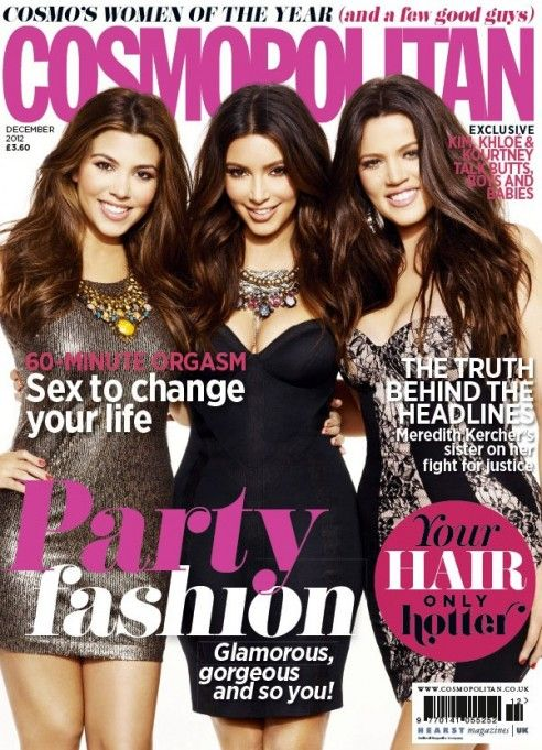 Covering Cosmo UK with My Sisters - Kim Kardashian: Official website