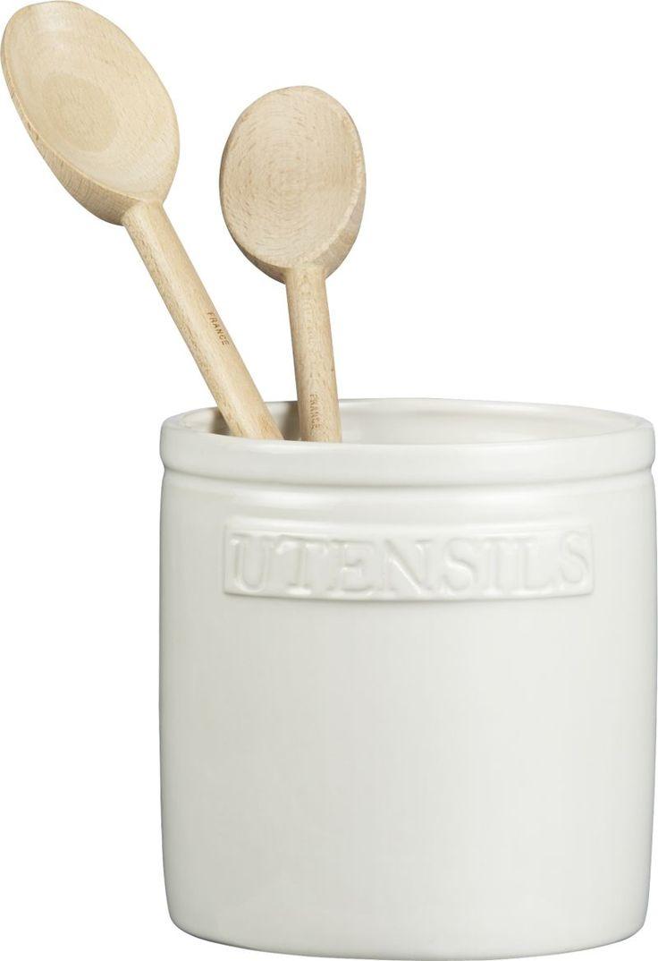 Homestead Utensil Crock  | Crate and Barrel