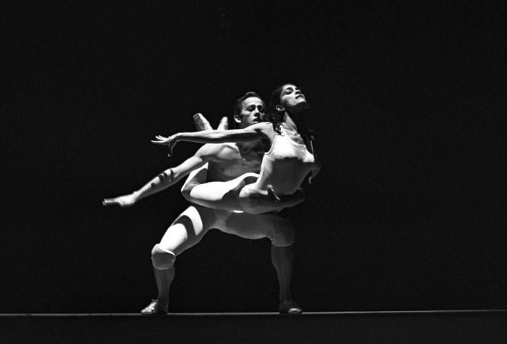Larry Rhodes and Brunilda Ruiz in Brian McDonald's Time out of Mind 1962 with the Harkness Ballet