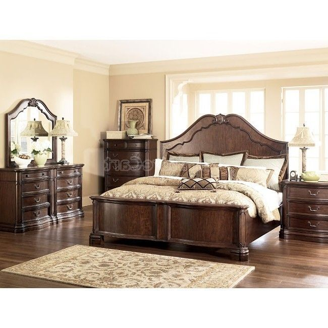 26 Beautiful Ashley Bedroom Furniture Ideas For You These Days Furniture Made From Oak Wood Is Quite Meubles En Bois Fonce Mobilier De Salon Meubles En Bois