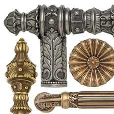 edgar berebi decorative hardware collection nantucket wave plumbing - Decorative Cabinet Knobs