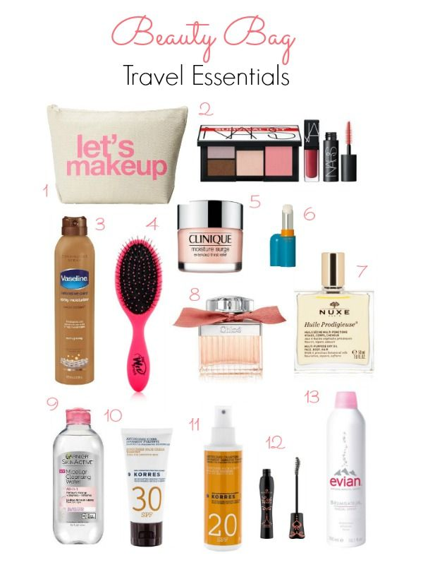 What beauty essentials to pack for your beach vacation - Ioanna's Notebook