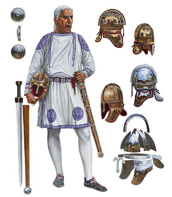 Late Roman empire officer  https://www.kickstarter.com/projects/cristinaravara/julius-caesar-in-ariminum-rimini-italy