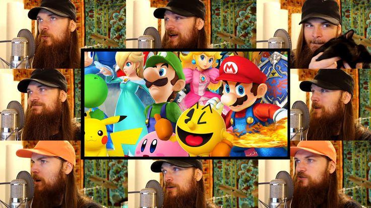 Super Smash Bros. 4 - Opening Theme Acapella