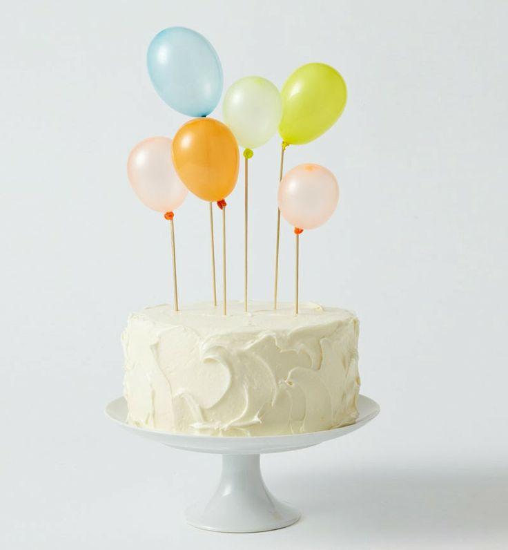 Diez sencillas y originales ideas para decorar tus tartas y pasteles