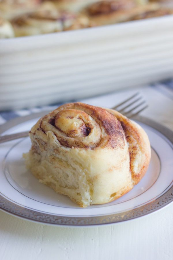 Overnight Cinnamon Rolls With Cream Cheese Frosting - make them the ...