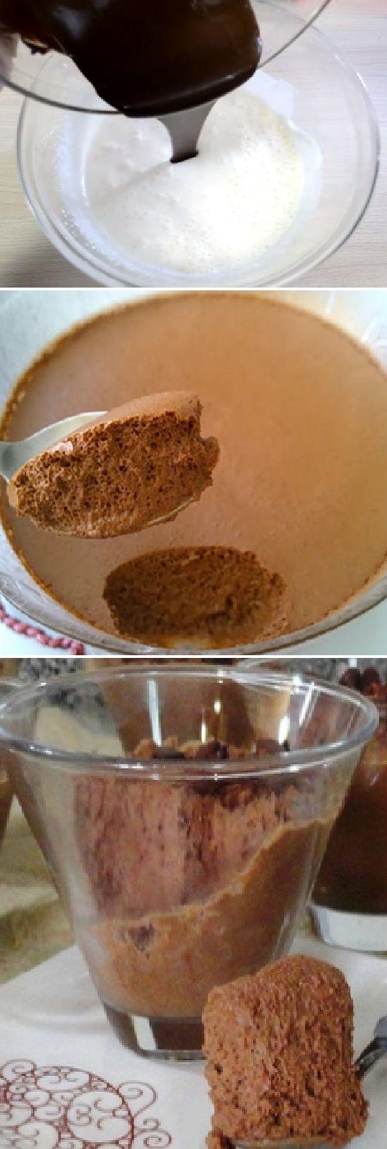Mousse de Chocolate con Gelatina Sin Sabor con sólo 4 ingredientes! #mousse #postres #dulces #gelatina #sinsabor #grenetina #pain #bread #breadrecipes #パン #хлеб #brot #pane #crema #relleno #losmejores #cremas #rellenos #cakes #pan #panfrances #panettone #panes #pantone #pan #recetas #recipe #casero #torta #tartas #pastel #nestlecocina #bizcocho #bizcochuelo #tasty #cocina #chocolate Si te gusta dinos HOLA y dale a Me Gusta MIREN...