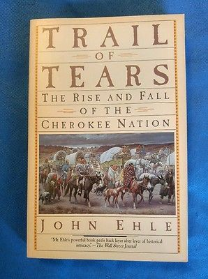 an introduction to the history of the trail of tears the rise and fall of the cherokee nation Trail of tears: the rise and fall of the cherokee nation by john ehle highly recommendedin trail of tears, john ehle (who is, as far as i can tell, non-native) sketches the people and events that led to the infamous trail of tears, the removal of the cherokee nation to indian territory (primarily arkansas and oklahoma) where they would never be bothered by whites again.