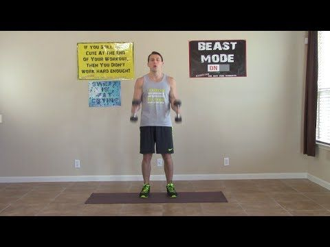 7 Min Home Bicep Workouts - HASfit Home Biceps Workout - Bicep Exercises...