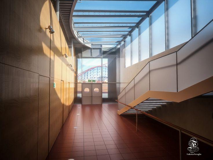 school exit render vray modelling maya