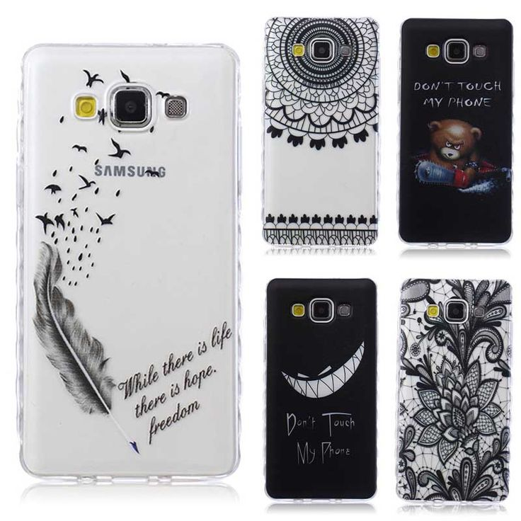 Translucent Delicate Design Back Case for Samsung Galaxy A5 2016 Cover Samsung A5 TPU Silicone Cover Case Phone Coque Hoesjes