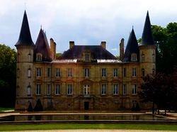 French wine -  Chateau Pichon Longueville Baron in Bordeaux  #www.frenchriviera.com
