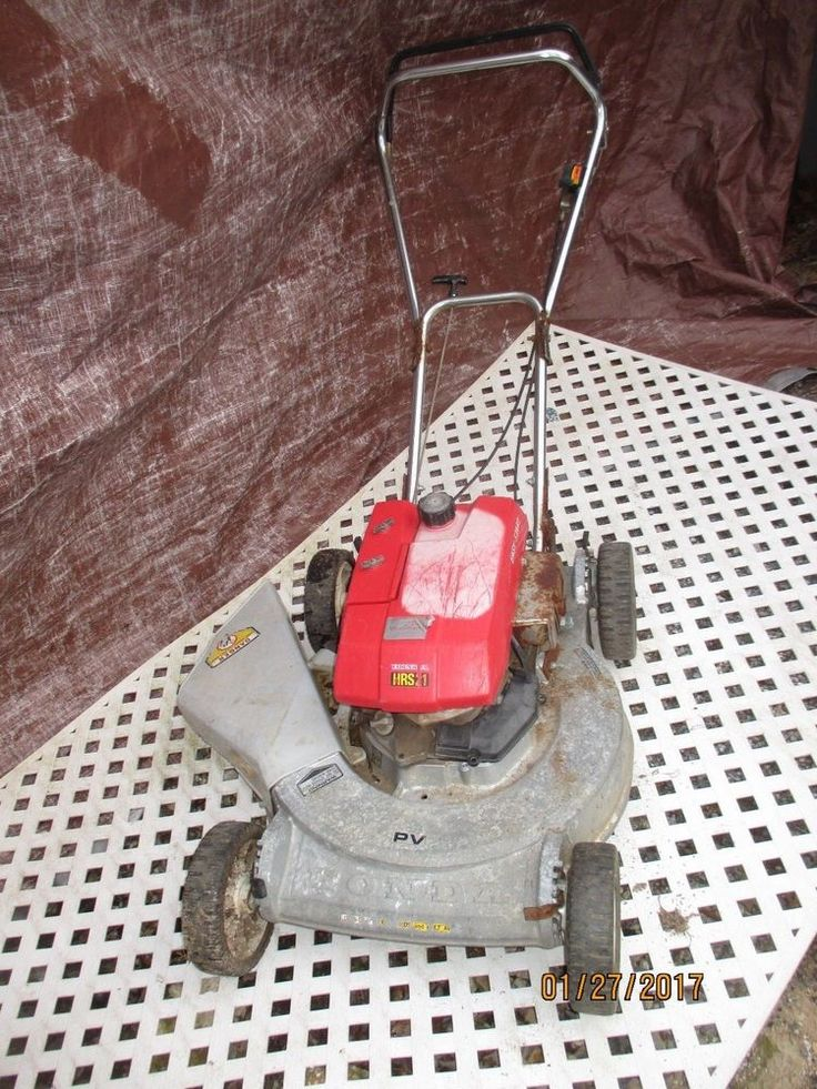 HONDA HRS21, PUSH MOWER PARTS ONLY