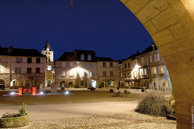 Sauveterre by Night