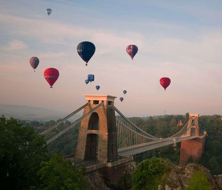 Clifton Suspension Bridge, North Somerset, England,Alika
