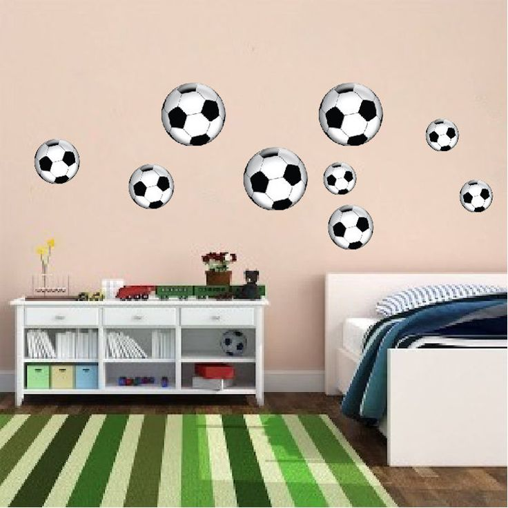 Soccer Ball Wall Decal   Sports Wall Decal Murals   Primedecals