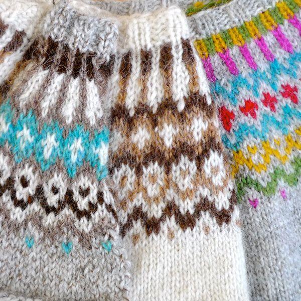 Gamaldags pull lopi traditionnel islandais - lopapeysa (2)