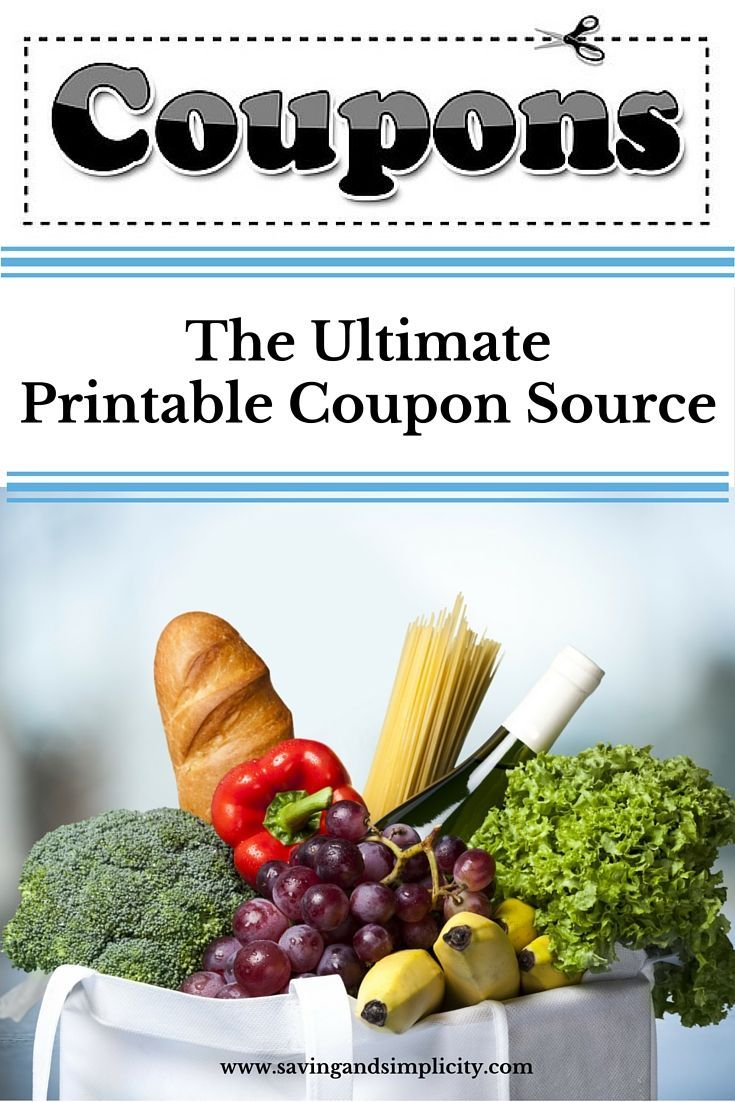 Saving money at the grocery store just got easier. Inside you will find links to various printable coupon sites both in Canada and the United States of America.