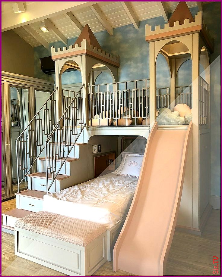 Extend the top to get a large loft bed for both girls