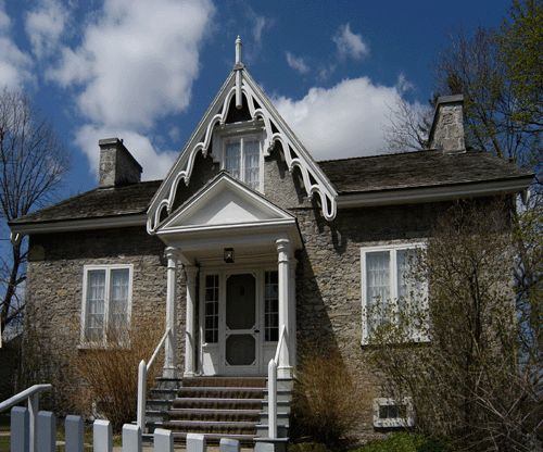 Hutchinson House, Peterborough, Ontario. Gothic Revival.