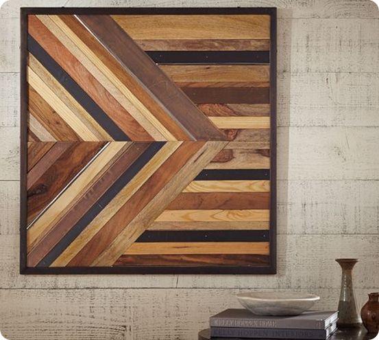 Pieced Wood Wall Art