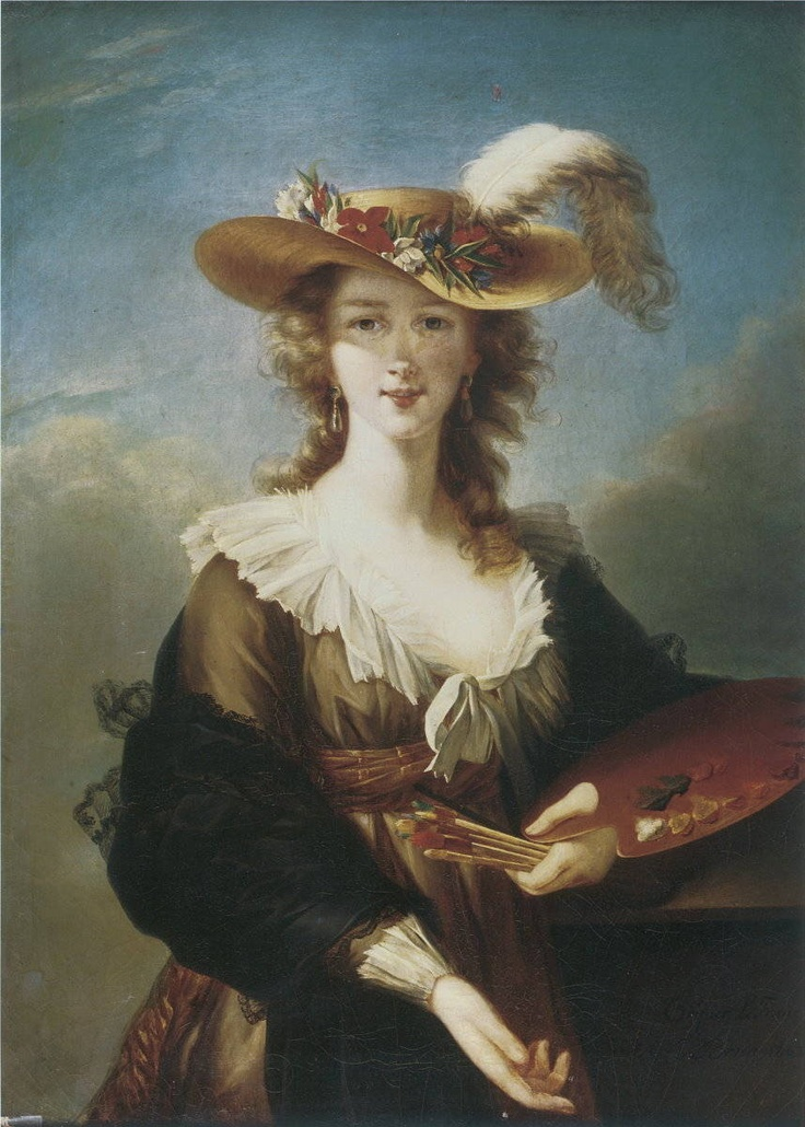 "an analysis of the self portrait of elisabeth vigee lebrun Posts about louise élisabeth vigée le brun  through a brief visual analysis of her 1786 oeuvre ""portrait of  the artist produced an oeuvre subtly self."