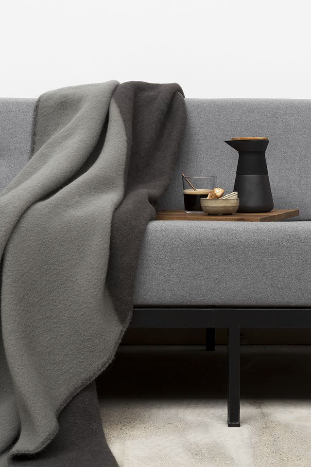 T.D.C: Forestrywool | New Collection for 2018 Triangle dusk is woven from pure New Zealand wool, our thick and luxurously warm blankets are everything you need and more. soft, generously sized and surprisingly light – perfect for cuddling up with on the couch, and will transform your living space! made with love and care by forestrywool woven in Europe size 130X190cm