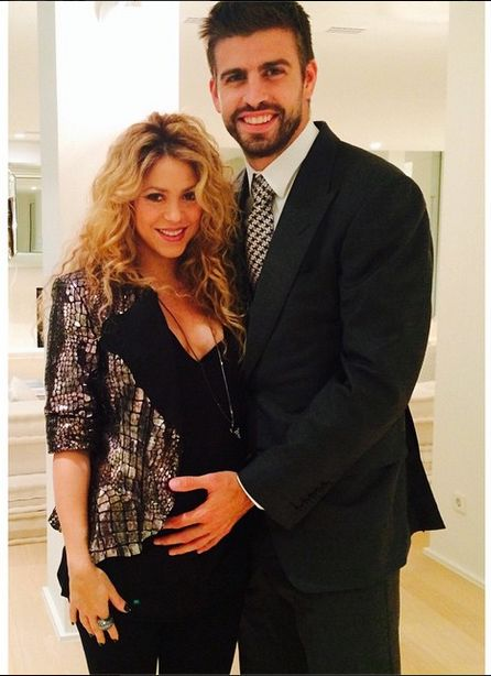 Shakira & Gerard Piqué Bump It Up