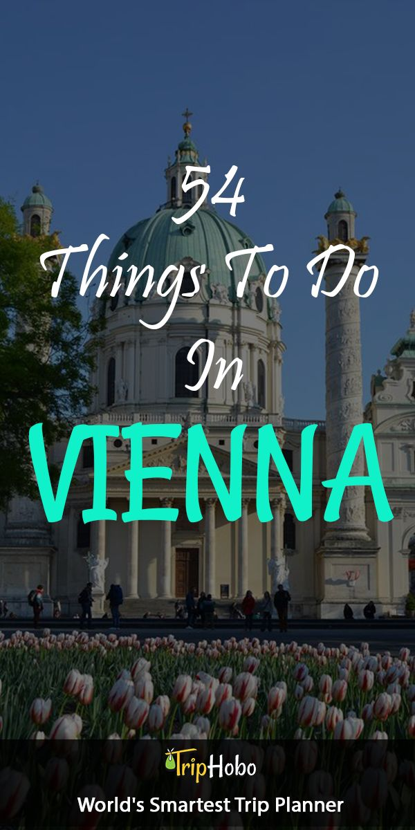 54 Things To Do In Vienna by TripHobo