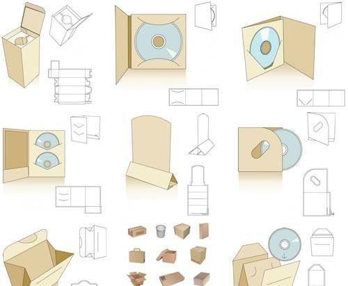 Moldes e ideas para packaging - Puerto Pixel | Recursos de Diseño