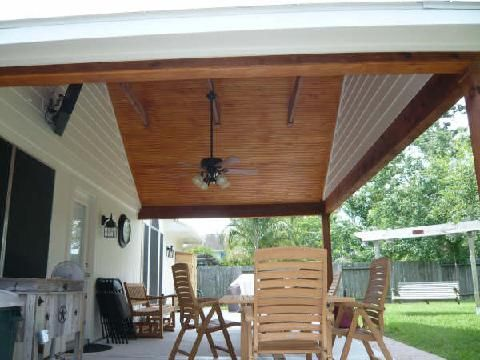 Affordable Shade Patio Covers, Inc. Simply Stunning! Patio Cover, Stained  Ceiling,