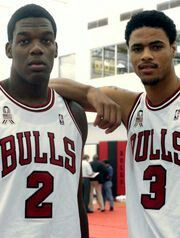 Eddy Curry, Tyson Chandler
