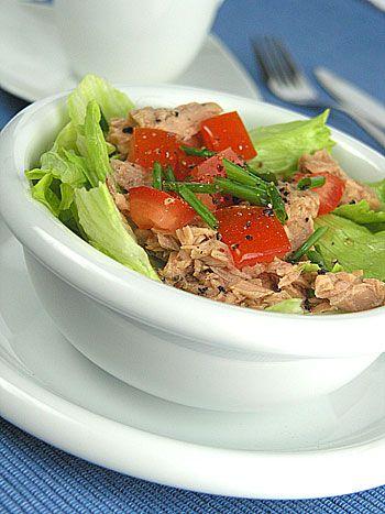 Błyskawiczna sałatka z tuńczykiem I