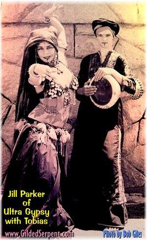 Jill Parker and Tobias, photo by Bob Giles